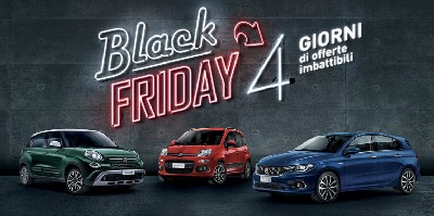 Incredibili sconti su Fiat e Lancia per il Black Friday  - News & Eventi - Ladiauto - Concessionario Fiat Ladispoli/Cerveteri